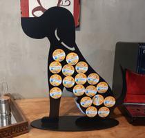 Porta capsula de café modelo cachorro marca Três corações - Nova Laser