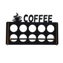 Porta Cápsulas de Café - 10 Cápsulas - Wood! Presentes Criativos