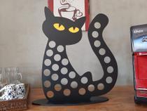 Porta cápsulas de café modelo Gato Nespresso - Nova Laser