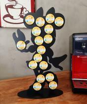 Porta cápsulas de café modelo Minnie, Três Corações. - Nova Laser