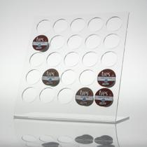 Porta Capsulas de Café Três - 25 Cristal - Brascril