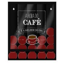 Porta Cápsulas Hora Do Café Modelo Universal de Parede - Gton