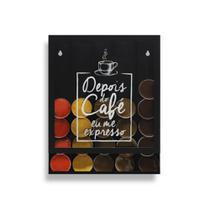 Porta Cápsulas Universal Café Expresso -