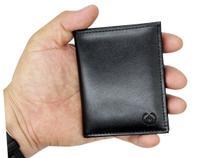 Porta cartão de crédito Carteira Pequena couro CNH - Kartmen