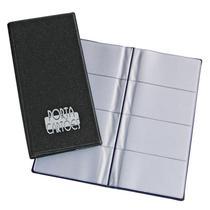 Porta cartão tipo agenda 317 - para 80 cartões - ACP -