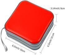 Porta Cds E Dvds Estojo 40 Midias Case Super Resistente - Jiadai