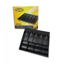 Porta cédulas e moedas c/prendedor metálico MG40 Menno CX 1 UN -