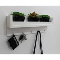 Porta  chaves 7.0 para decoração com kit de instalação fred planejados -