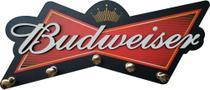 Porta Chaves Alto Relevo Decoração Parede Budweiser - Rgr Visual