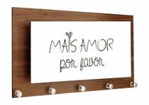 Porta Chaves Alto Relevo Mais Amor - Tecnolaser