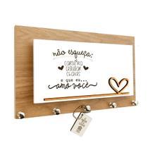 Porta Chaves/Carta Momento Casa Amo Você Ref 162 -
