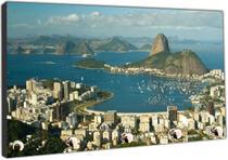 Porta Chaves Cidade Rio De Janeiro Organizador Chaveiros - Vital Quadros
