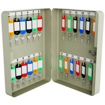 Porta chaves claviculário menno ts24 com capacidade de 24 chaves -