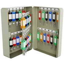 Porta chaves claviculário menno ts48 com capacidade de 60 chaves -