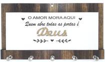 Porta Chaves De Parede Decorativo Personalizado + Brinde A03 - Carioca Artesanatos