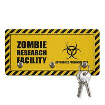 Porta Chaves Ecológico 3 Pontos Zombie Research Facility - Geek10