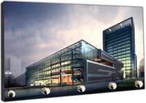 Porta Chaves Engenharia Civil Arquitetura Construções Organizador Chaveiros - Vital Quadros