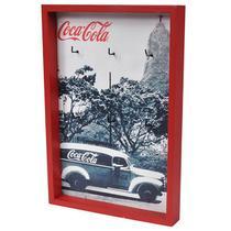 Porta Chaves Madeira COCA COLA -  Landscape Rio de Janeiro  - 6 Ganchos - Home Collection