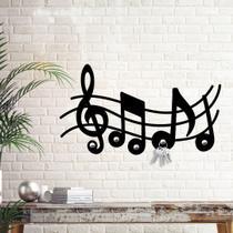 Porta Chaves Notas Musicais - Love Decor