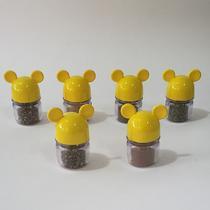 Porta Condimentos Amarelo - Mickey E Minnie Presentes