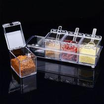 Porta Condimentos E Temperos Crystal Seasoning Box - Rpc