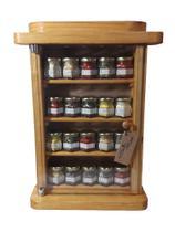 Porta Condimentos / Temperos  de madeira - Bella art in madeira