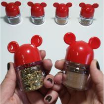 Porta Condimentos Vermelho - Mickey E Minnie Presentes