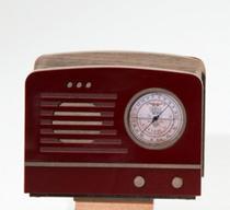 Porta controle Rádio Rubi - 3 divisórias - Limoeiro