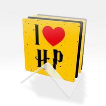 Porta Copos Bruxinho Harry Potter Kit 4 peças e suporte acrílico Beek -