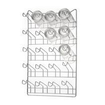 Porta Copos de Parede 12 copos Cromado - Arthi -