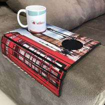 Porta Copos Esteira Para Sofa Adesivado Londres - Dcasa