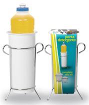 Porta Detergente Cromado e Branco 312-4 - Niquelart -