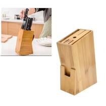 Porta facas em bambu cepo  7 posições - Clink -