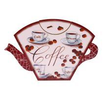 Porta Filtro Coador Café Descartável Modelo Coffe 31x19 Mdf Madeira - Atacadão Do Artesanato Mdf