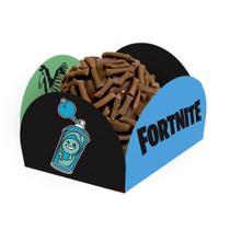 Porta Forminha para Doces Fortnite 40 unidades Festcolor -