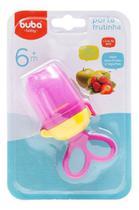 Porta Frutinha Buba Rosa Chupeta Alimentadora Cod. 6156 . -