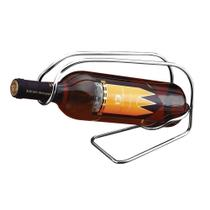 Porta Garrafa de Vinho em Inox Adega Alta Qualidade Zanella -