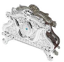 Porta guardanapo de zamac - prestige -