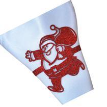 Porta guardanapo Feliz Natal Papai Noel Kit 30 pçs - Ateliê Da Decoração