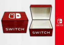 Porta jogos e controles Nintendo Switch - Caixa De Games