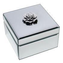 Porta-joias De Madeira Espelhado 12,5 Cm - Prestige