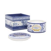 Porta Joias em Porcelana Com Sabonete em Barra Castelbel Gold e Blue -