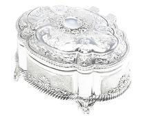 Porta-Joias Oval Requinte - 8,5X5X6,5cm - Prestige -