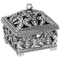 Porta-joias prata em metal - Mart