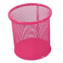 Porta Lapis Aramado Redondo Rosa Kit -