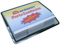 Porta Lembrete c/papel bco cor fume 957.1 - Acrimet