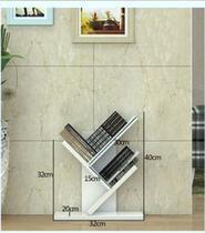 Porta livros de chão (pp)para decoração com kit de instalação fred planejados -