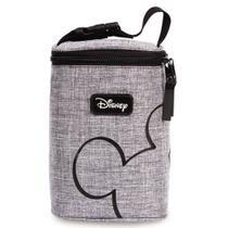 Porta mamadeiras Mickey Disney Babygo cinza -