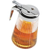 Porta Mel de Vidro 270 ml com Dosador Euro Home -