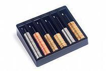 Porta moedas  novas e antigas cor preto 990.1 - Acrimet